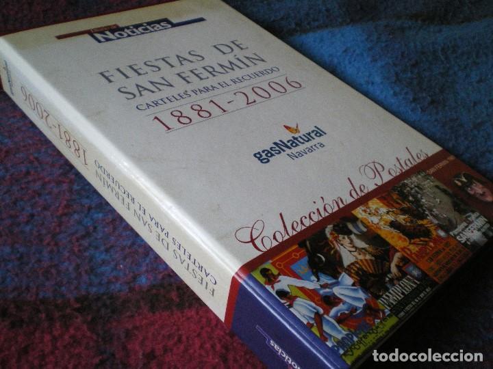 FIESTAS DE SAN FERMÍN, PAMPLONA. CARTELES PARA EL RECUERDO. 1881-2006. COLECCIÓN DE POSTALES (Postales - España - Navarra Moderna (desde 1.940))