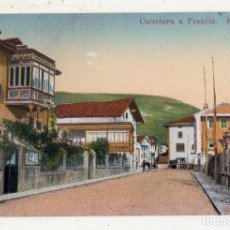 Postales: ELIZONDO. CARRETERA A FRANCIA.. Lote 70064245