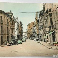 Postales: TUDELA DE NAVARRA - CALLE GAZTAMBIDE - POSTAL COLOREADA - AÑOS 60. Lote 72324955