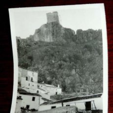 Postales: FOTOGRAFIA DE ZAHARA DE LA SIERRA (CADIZ), MIDE 8,5 X 6 CMS. AÑOS 30 - 40.. Lote 72904935