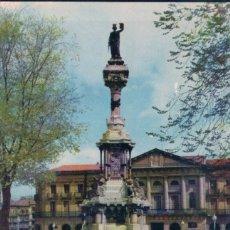 Postales: POSTAL PAMPLONA - MONUMENTO A LOS FUEROS - VAQUERO 9 - ESCALA EN HIFI - T.V.E.. Lote 73532551