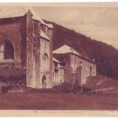 Postales: RONCESVALLES (NAVARRA): MONASTERIO DE RONCESVALLES. LABOUCHE FRÉRES. NO CIRCULADA (AÑOS 20). Lote 74248539