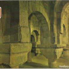 Postales: ** PN1303 - POSTAL - MONASTERIO DE LEYRE - CRIPTA CAROLINGIA SIGLO IX. Lote 74654467