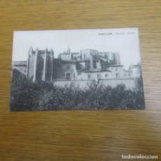 Postales: MUY ANTIGUA POSTAL PAMPLONA, CATEDRAL ABSIDE. Lote 75248815