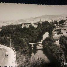 Postales: ANTIGUA FOTOGRAFÍA DE PAMPLONA. FOTO AÑOS 60. . Lote 75903871
