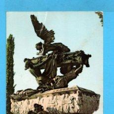 Postales: POSTAL DE RONCAL MAUSOLEO DE GAYARRE ESCRITA EDITO COMPLEX . Lote 96651147
