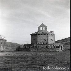Postales: NEGATIVO ESPAÑA NAVARRA MURUZÁBAL IGLESIA SANTA MARÍA DE EUNATE 1973 KODAK 55MM GRAN FORMATO. Lote 76588331