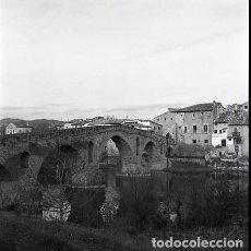 Postales: NEGATIVO ESPAÑA NAVARRA PUENTE LA REINA 1973 KODAK 55MM GRAN FORMATO NEGATIVE SPAIN PHOTO FOTO. Lote 76589227