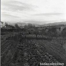 Postales: NEGATIVO ESPAÑA NAVARRA PUENTE LA REINA 1973 KODAK 55MM GRAN FORMATO NEGATIVE SPAIN PHOTO FOTO. Lote 76590275
