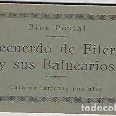 Postales: RECUERDO DE FITERO Y SUS BALNEARIOS- 14 POSTALES COMPLETO. Lote 76931953
