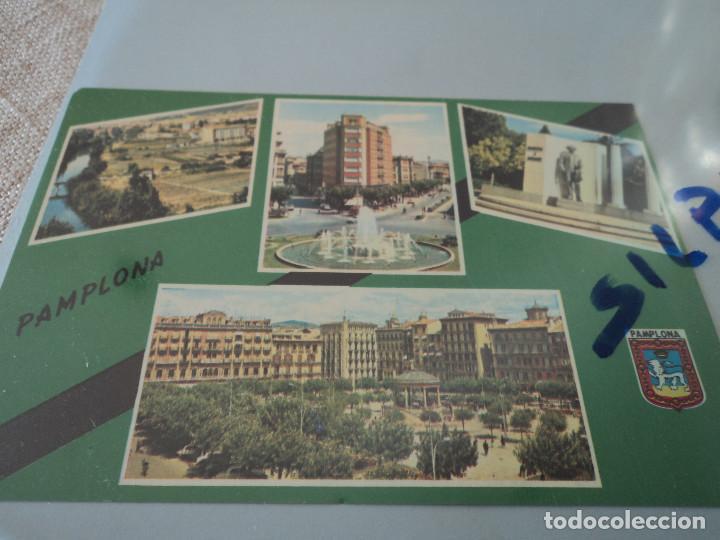 Nº 6 PAMPLONA VARIAS VISTAS ED. DARVI (Postales - España - Navarra Moderna (desde 1.940))