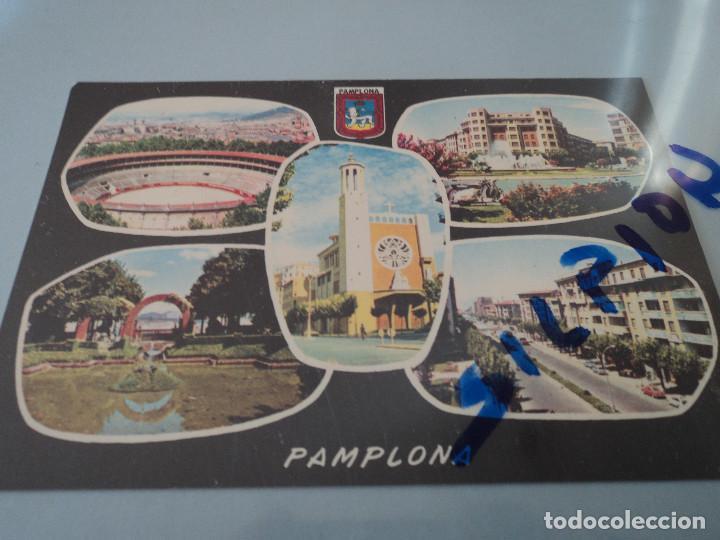 Nº 5 PAMPLONA VARIAS VISTAS ED. DARVI (Postales - España - Navarra Moderna (desde 1.940))