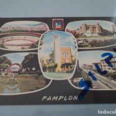 Postales: Nº 5 PAMPLONA VARIAS VISTAS ED. DARVI. Lote 77581097