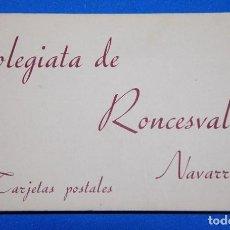 Postales: 20 POSTALES COLEGIATA DE RONCESVALLES PP. SIGLO XX. Lote 78375433