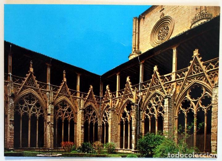 NAVARRA. PAMPLONA. CATEDRAL CLAUSTRO. (Postales - España - Navarra Moderna (desde 1.940))