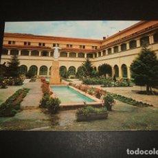Postales: ALLOZ ESTELLA NAVARRA JARDIN DEL CLAUSTRO. Lote 81072576