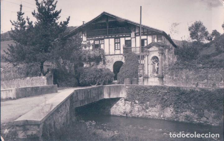 POSTAL NAVARRA - VERA DEL BIDASOA - CASERIO CELAYA 2 - RADA - CIRCULADA (Postales - España - Navarra Antigua (hasta 1.939))