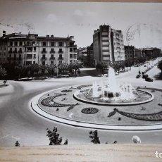 Postales: POSTAL DE PAMPLONA. 13 PLAZA PRINCIPE VIANA. EDICIONES SICILIA. CIRCULADA 1960. Lote 82154964