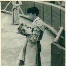 Postales: PLAZA TOROS PAMPLONA. MANOLETE JULIO 1947. CIRCULADA EN 1948. FOTOGRÁFICA. MUY RARA.. Lote 83476536