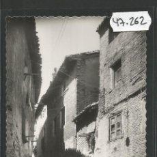 Postales: POSTAL TUDELA - 47 - CALLE TIPICA - EDICIONES DARVI - (47.262). Lote 84260728