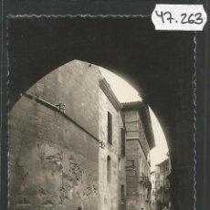 Postales: POSTAL TUDELA - 40 - CALLE DEL PORTAL - EDICIONES DARVI - (47.263). Lote 84260824