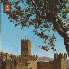 Postais: JAVIER (NAVARRA) CASTILLO DE JAVIER - ESCUDO DE ORO Nº 3 - EDITADA EN 1965 - S/C. Lote 86324508