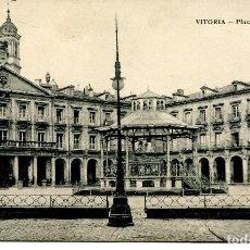 Postales: VITORIA-PLAZA NUEVA.. AÑO 1915. E.J.G.. Lote 86602140