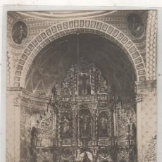 Postales: SANTESTEBAN POSTAL FOTOGRÁFICA. ALTAR MAYOR DE LA IGLESIA. SIN CIRCULAR.. Lote 86743108