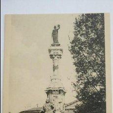 Postales: ANTIGUA POSTAL. PAMPLONA. NAVARRA. MONUMENTO A LOS FUEROS DE NAVARRA. EDICIÓN PAMPLONA. . Lote 89567768