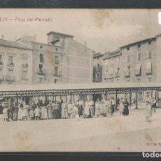 Postales: TAFALLA - PLAZA DEL MERCADO - P21631. Lote 90589435