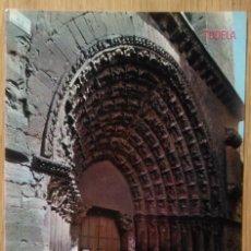 Postales: TUDELA - CATEDRAL PUERTA DEL JUICIO. Lote 91692025