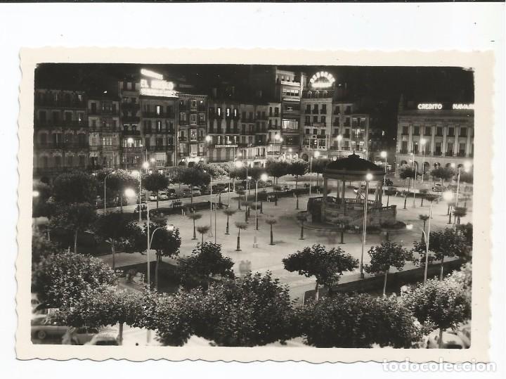 PAMPLONA - PLAZA DEL CASTILLO. EFECTO NOCTURNO - Nº 233 ED. ARRIBAS (Postales - España - Navarra Moderna (desde 1.940))