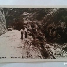 Postales: ISABA - CAMINO DE BELAGUA -- FOTO POSTAL. Lote 94539691