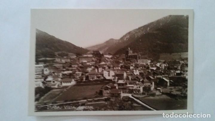 ISABA - VISTA GENERAL -- FOTO POSTAL (Postales - España - Navarra Moderna (desde 1.940))