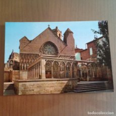 Postales: POSTAL OLITE NAVARRA IGLESIA DE SANTA MARIA. Lote 95861555