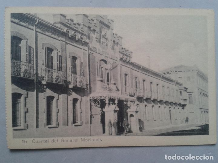 PAMPLONA. CUARTEL DEL GENERAL MORIONES. (Postales - España - Navarra Antigua (hasta 1.939))