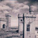 Postales: POSTAL FOTOGRAFICA DEL CASTILLO DE OLITE - TORRE DEL VIGIA - 12 ARRIBAS. Lote 145063388