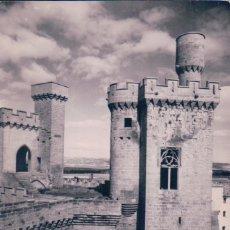 Postales: POSTAL FOTOGRAFICA DEL CASTILLO DE OLITE - TORRE DEL VIGIA - 12 ARRIBAS. Lote 96633763