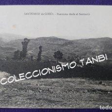 Postales: POSTAL DEL SANTUARIO DE CODES (NAVARRA). PANORAMA DESDE EL SANTUARIO. AÑOS 20- 30. Lote 96894523