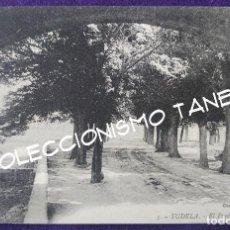Cartes Postales: POSTAL DE TUDELA (NAVARRA). 5 EL PRADO. CLICHE J. MORA. AÑOS 20- 30. Lote 96894779