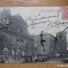 Postales: TAFALLA (NAVARRA).- CONVENTO DE RECOLETOS Y CASA DEL CONDE DE GUENDULAIN.. Lote 96978071