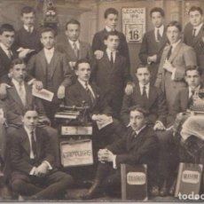 Postales: LECAROZ (NAVARRA) - COLEGIO BUEN CONSEJO CURSO COMERCIO 1916. Lote 97341383