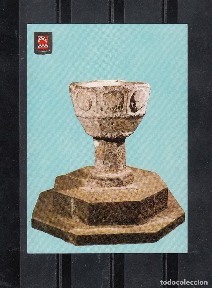 Nº 10. CASTILLO DE XAVIER. PILA BAUTISMAL DEL SANTO (Postales - España - Navarra Moderna (desde 1.940))