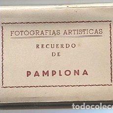 Postales: X117157 NAVARRA 10 VISTAS RECUERDO DE PAMPLONA CATEDRAL MONUMENTO PORTAL MURALLAS PLAZA TOROS ETC.... Lote 97540715