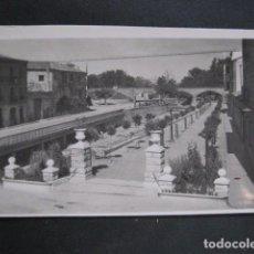 Postales: POSTAL ANTIGUA - TUDELA -18-PASEO GENERALISIMO FRANCO - GARCIA GARRABELLA - VER FOTOS- (50.327). Lote 97787655