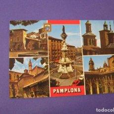 Postales: POSTAL DE PAMPLONA. ED. FISA. ESCRITA.. Lote 98692115