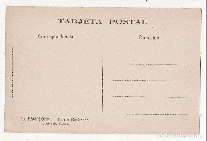 Postales: Pamplona. Barrio Rochapea. - Foto 2 - 99996655