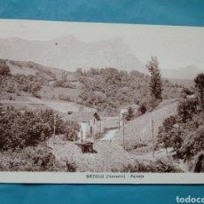 Postales: TARJETA POSTAL DE BETELU (NAVARRA) PAISAJE DESDE EL BALNEARIO. MALLOAS BALERDI. Lote 101202863