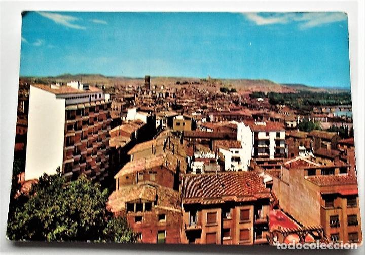 TUDELA (NAVARRA). 202 VISTA GENERAL. ED. PARÍS. USADA (Postales - España - Navarra Moderna (desde 1.940))
