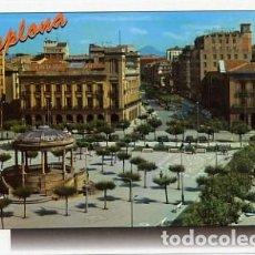 Postales: PAMPLONA (NAVARRA) Nº 40 PLAZA DEL CASTILLO - ED ARRIBAS - SIN CIRCULAR - AÑO 1970. Lote 103067007